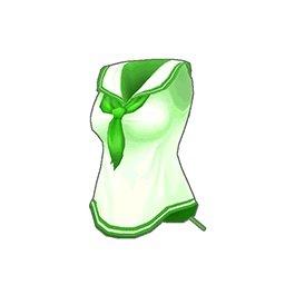 スクールガールトップス(緑)
