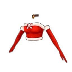サンタトップス(赤)