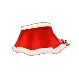 サンタスカート(赤)