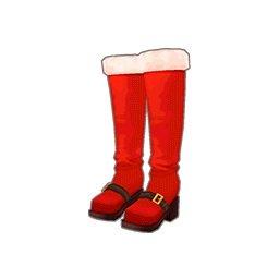 サンタブーツ(赤)