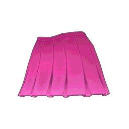 スクールガールスカート(ピンク)