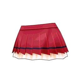ダイヤウィッチスカート(赤)