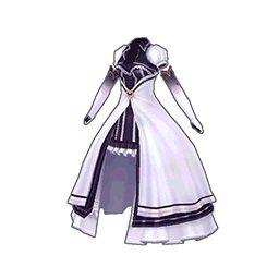 プリンセスフレアドレス(白)