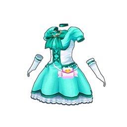 マジカルハートワンピース(緑)