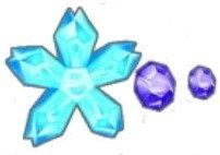 ブロッサムラインストーン(青)