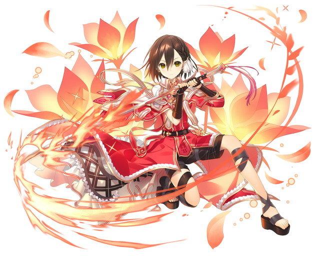 【紅蓮の歌姫】実在型アーサー_魔法の派