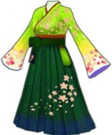 桜ノ衣(緑)