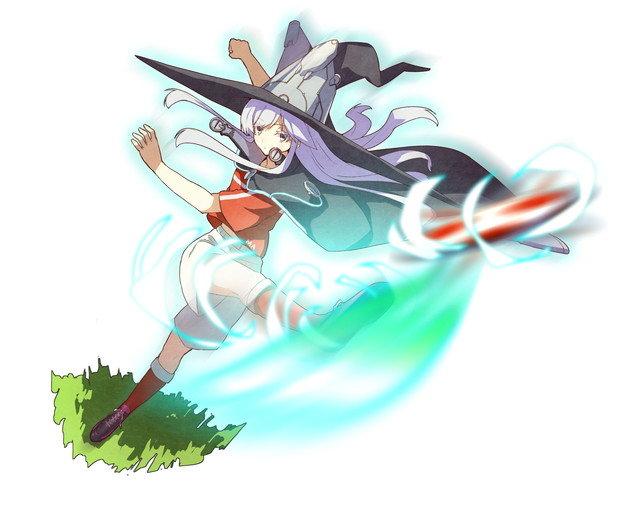【脚技の魔女】蹴球型ガネイダ