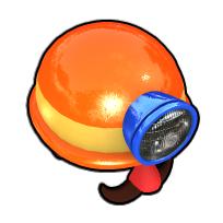 ごつい探険家のヘルメット