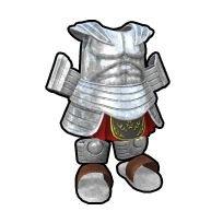 古代戦士のよろい