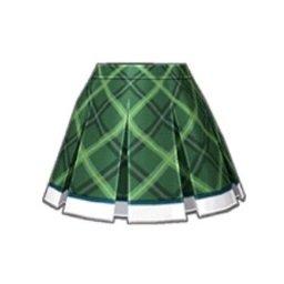 IC学園スカート(緑)