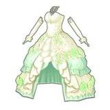 プリンセスローズドレス(緑)