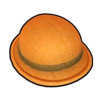女子探険家の帽子