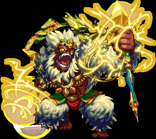 猿キャラクターモンストハヌマーン