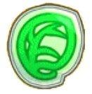 緑のシール