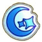 青のシール