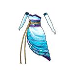 クイーンキモノドレス(青)