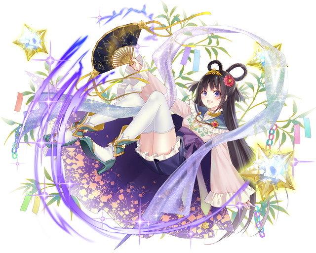 【天上の織女星】星冠型織姫