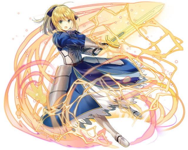 【聖剣解放】異界型セイバー_-魔力解放-