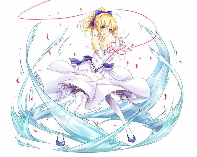 キャラクター一覧/【騎士】異界型セイバー_,ドレス, , 乖離性