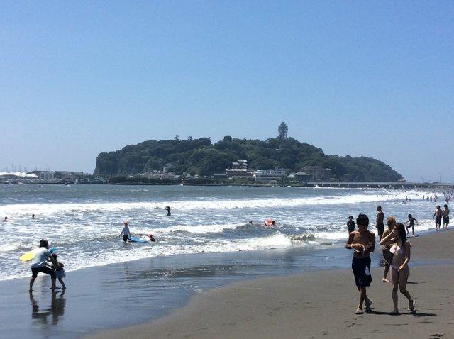 8.砂浜の光景