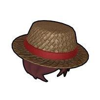 かわいい麦わら帽子