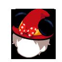耳付きウィッチ帽
