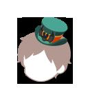 こうもり帽子