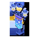 クリスタルの街灯