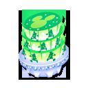 クリスタルタワー_緑