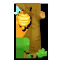 ハチの巣街灯
