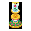 魔法のバラ花壇