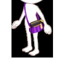 おしゃれポーチ 紫