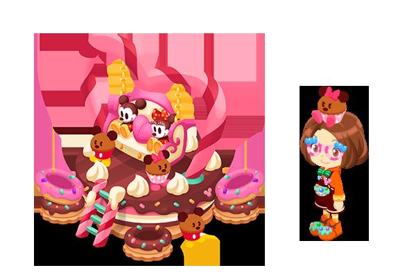 ミニーと楽しくお菓子作り♪ランキングイベント『ミニーのスイートバレンタイン』開催中!2