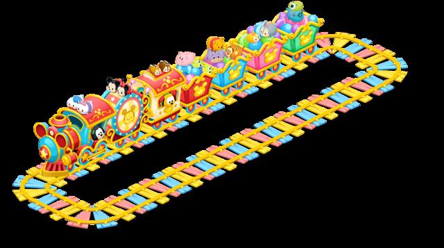 イベントボーナスでランク上位に♪どんぐりショップにツムツムの機関車が登場!2