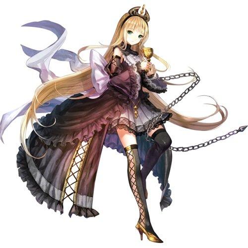 【秘恋の騎士】支援型金髪のイゾルデ