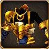 業怨の金色鎧上