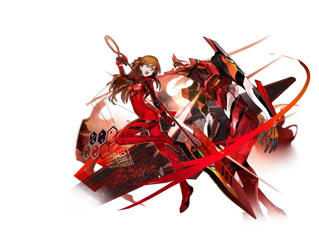 【EVAパイロット】異界型アスカ&2号機(富豪MR)