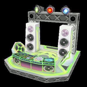 最新型DJブース