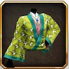 ハイカラ羽織緑
