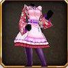 茶屋姫の服桃
