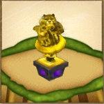 成金カムイの像