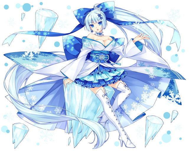【寂寥の妖精】雪女