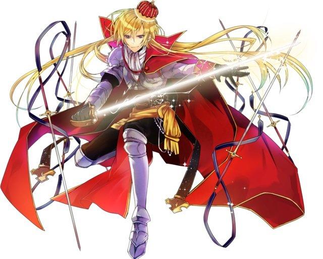 【極光の剣王】第二型ギフレイス