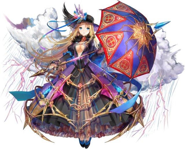 【魔性の声援姫】支援型ローディーネ