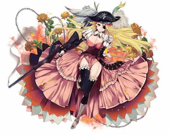 【海賊淑女】特異型ヴェルヴィーユ
