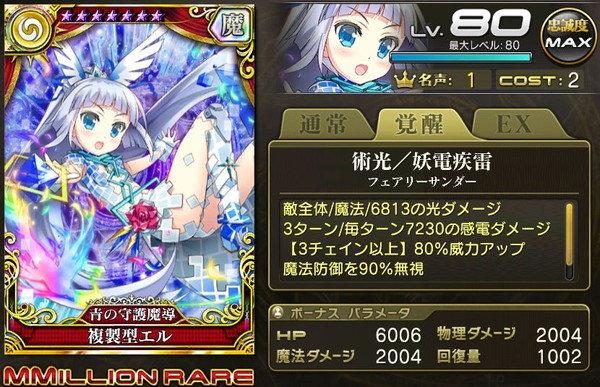 【青の守護魔導】複製型エル