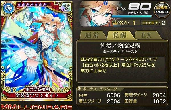 【湖の墜落魔剣】聖装型アロンダイト