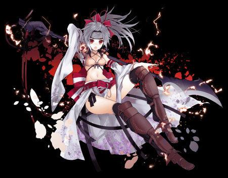 【東洋の守護姫】特異型甲斐姫