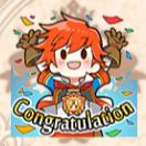 主人公「Congratulation」